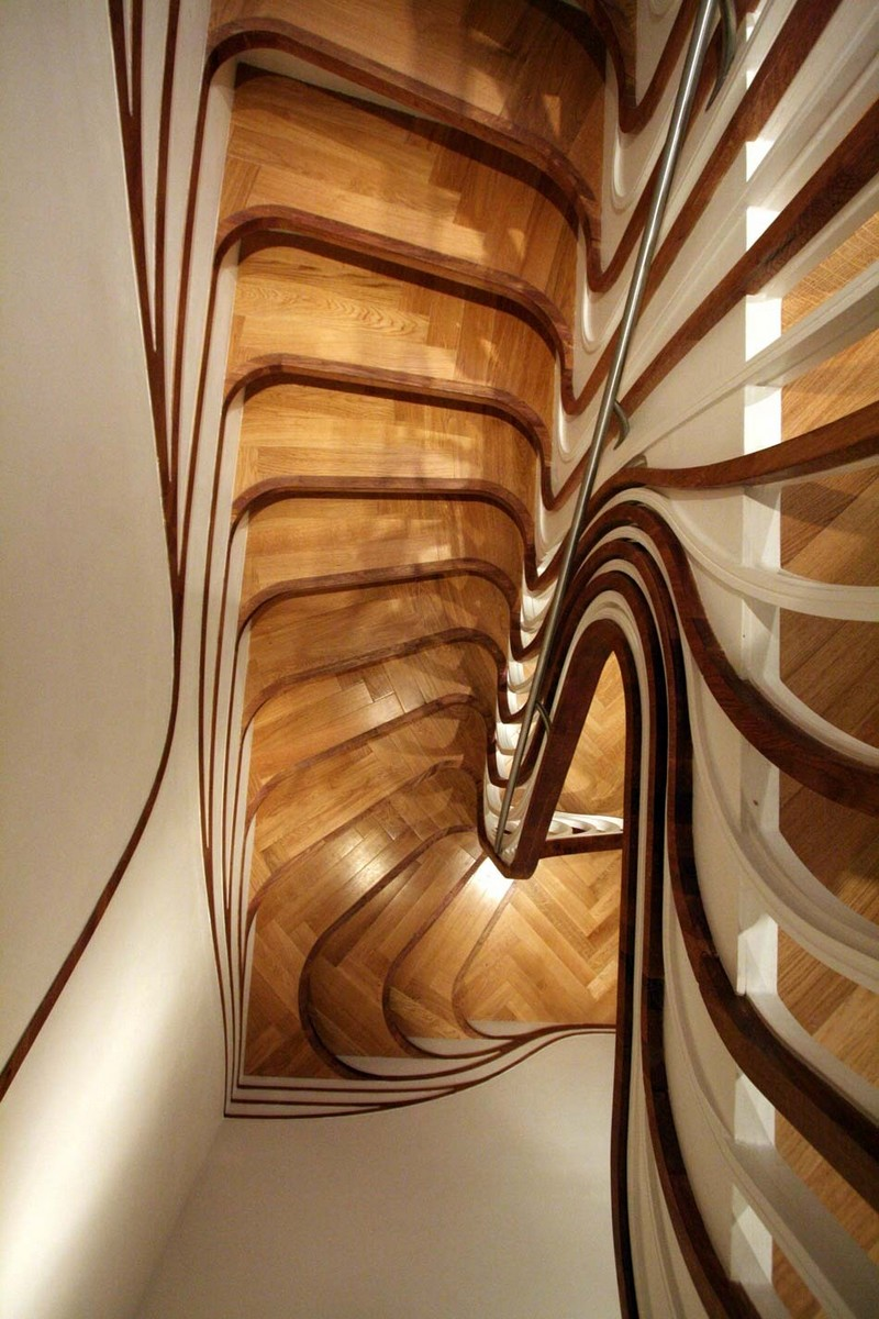 Sculptural Stair Sensualscaping Atmos Studio 16