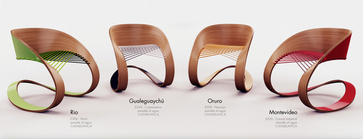 Carnaval Chair – A Rocking Chair Concept by GLID Studio