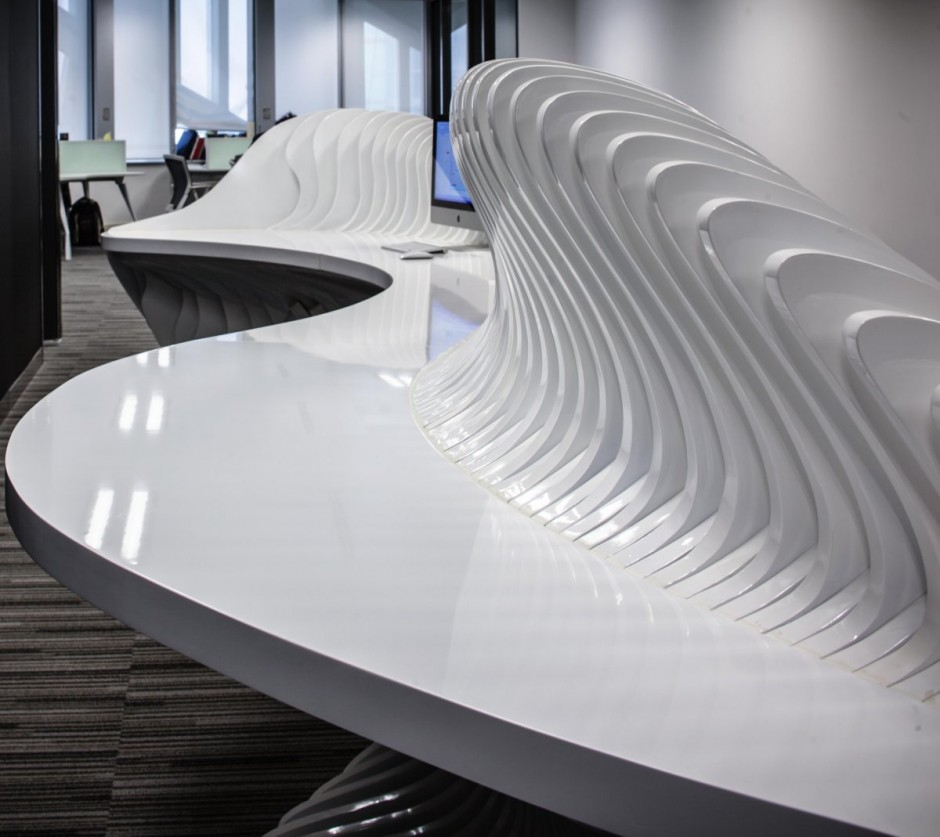 Parametric office furniture by hwcd for In design furniture