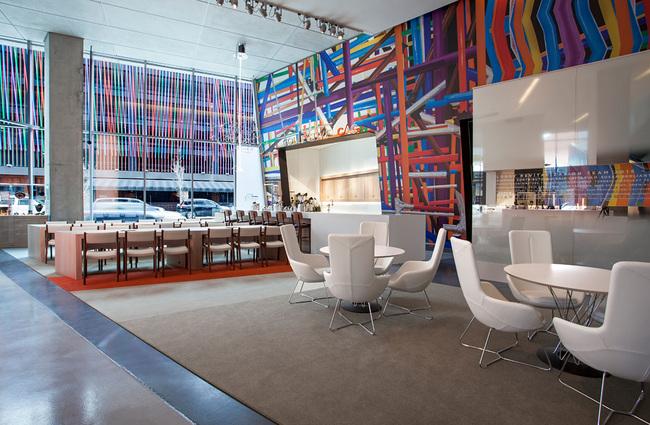 FRCH renovates Zaha Hadid's Contemporary Arts Center lobby in Cincinnati