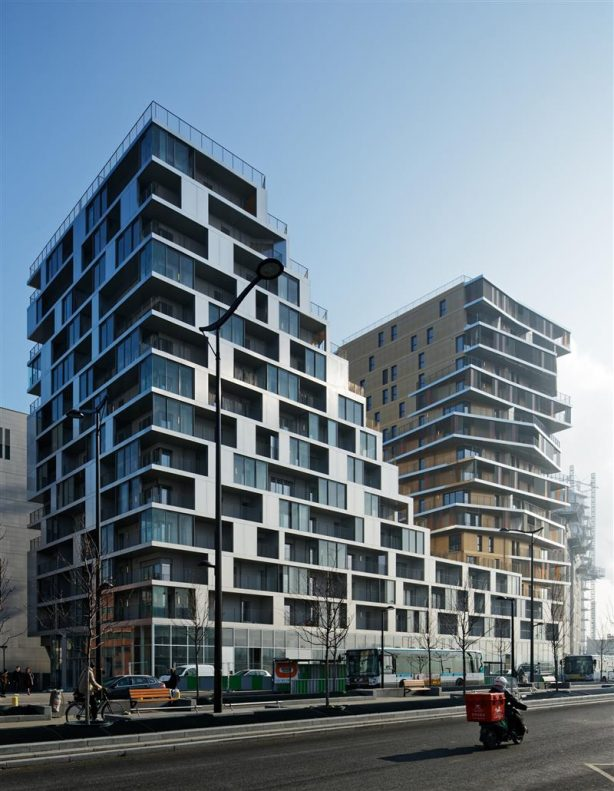 Tiered Residential Tower in Paris 03