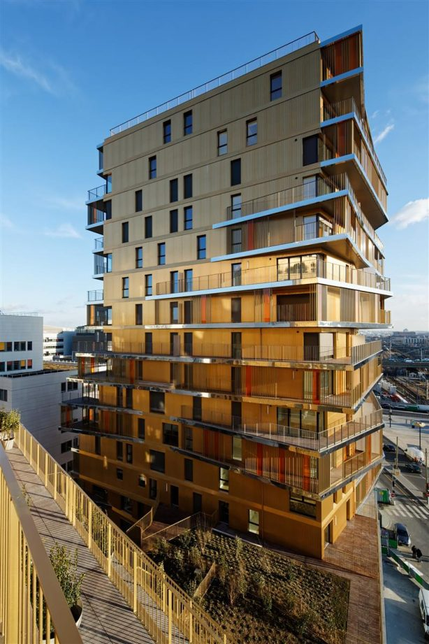 Tiered Residential Tower in Paris 04