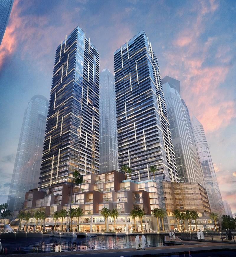 Aedas S Residences Towers At Marina Gate In Dubai