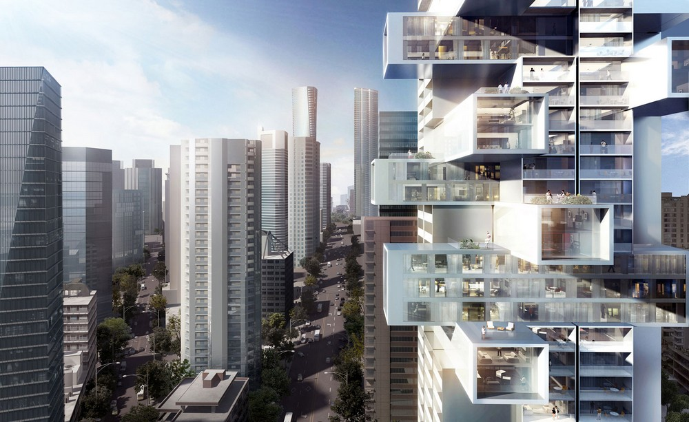 1500 west georgia residential tower in vancouver by ole for Buro architectes