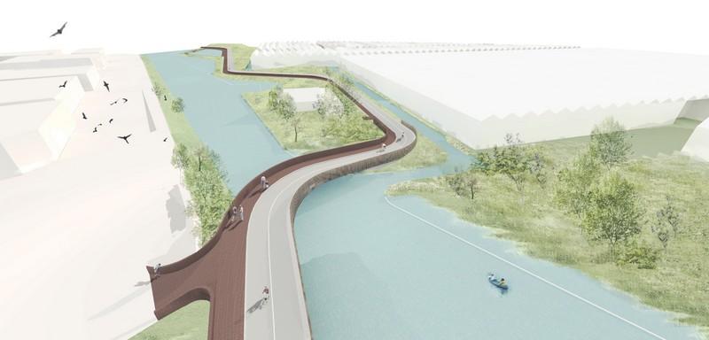 Bat Bridge next architects