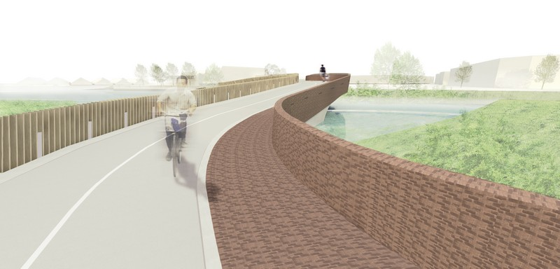 Vlotwatering Bridge for Bats next architects