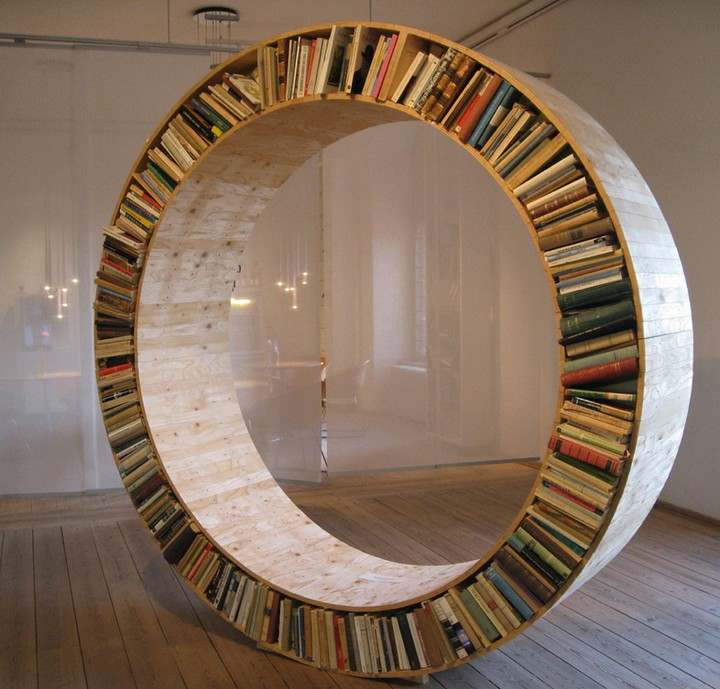 20 Amazing Ideas That Will Make Your House Awesome: 23 Artistic Bookshelf Designs That Will Make Your House