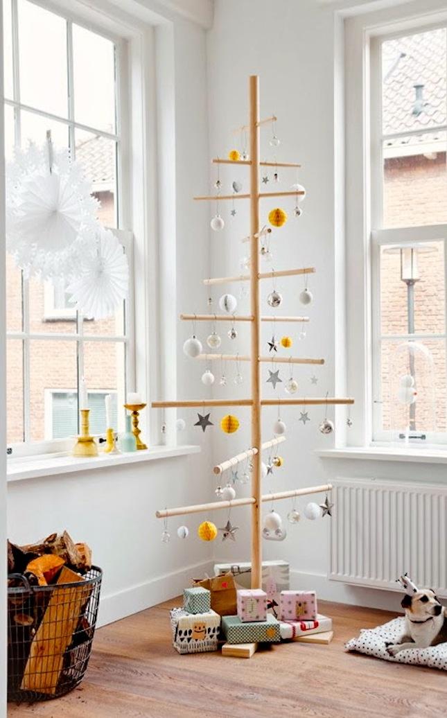 Half Christmas Trees Artificial