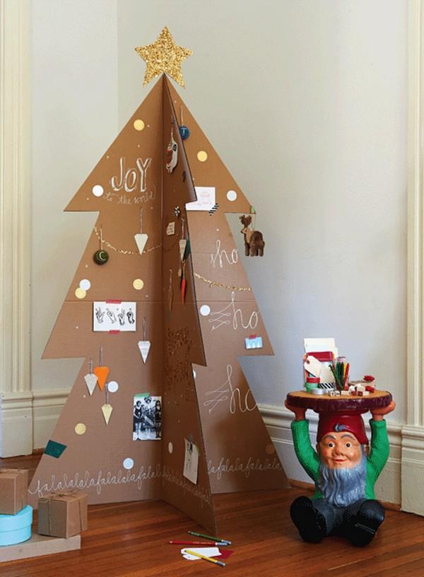 Half Artificial Christmas Tree