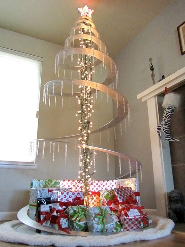 elegant christmas tree decorating ideas contemporary - Unique Contemporary Christmas Decorations