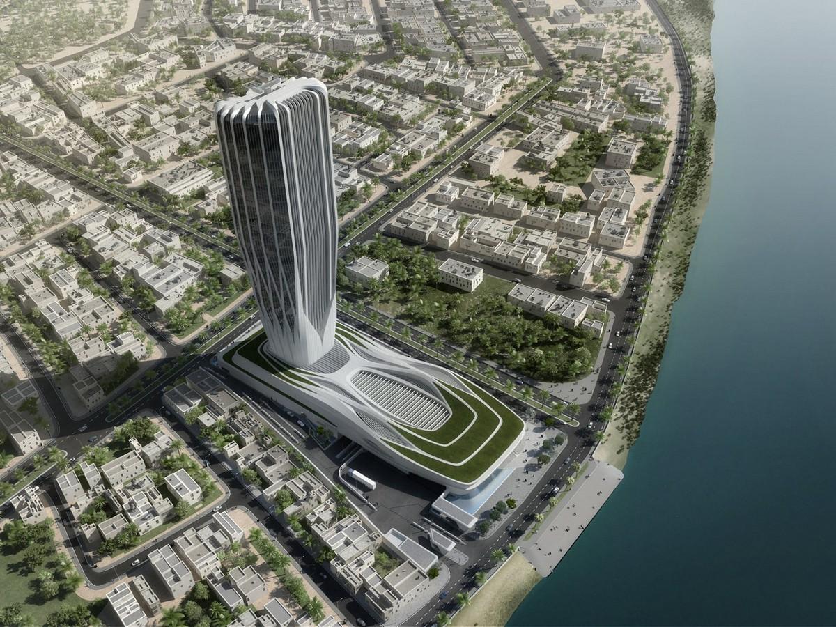 Zaha Hadid Central Bank of Iraq