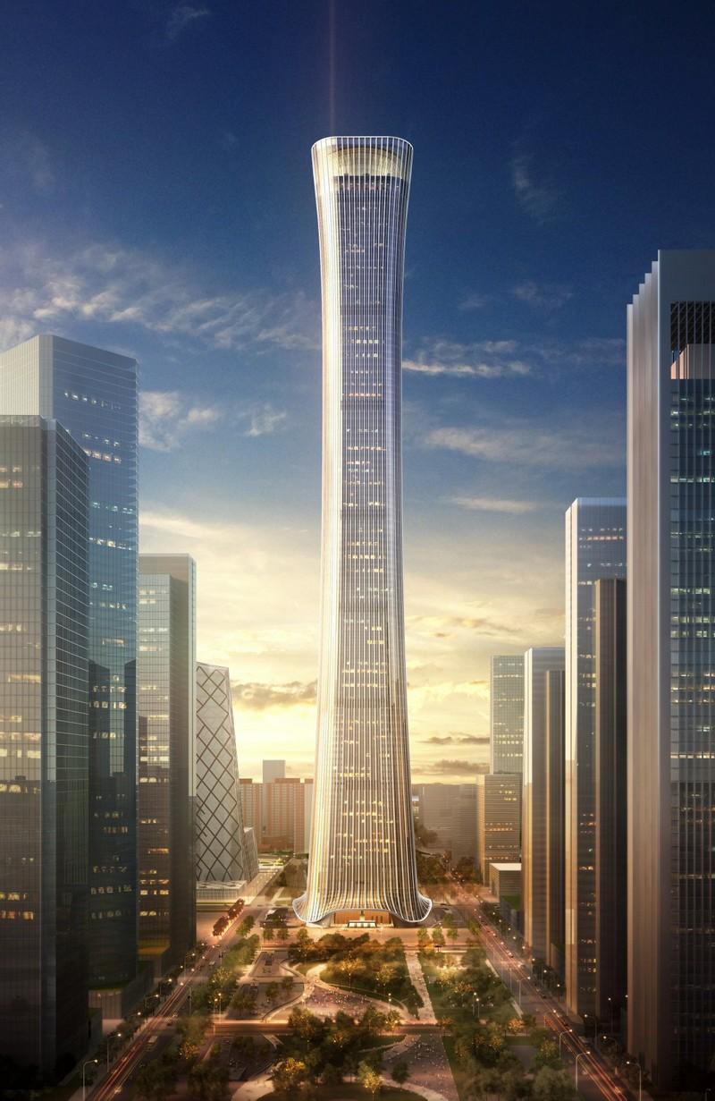 top ten tallest buildings in the world China Zun Skyscraper