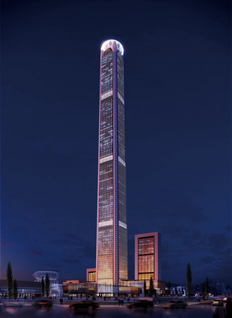 10 top tallest buildings in the world Goldin Finance 117
