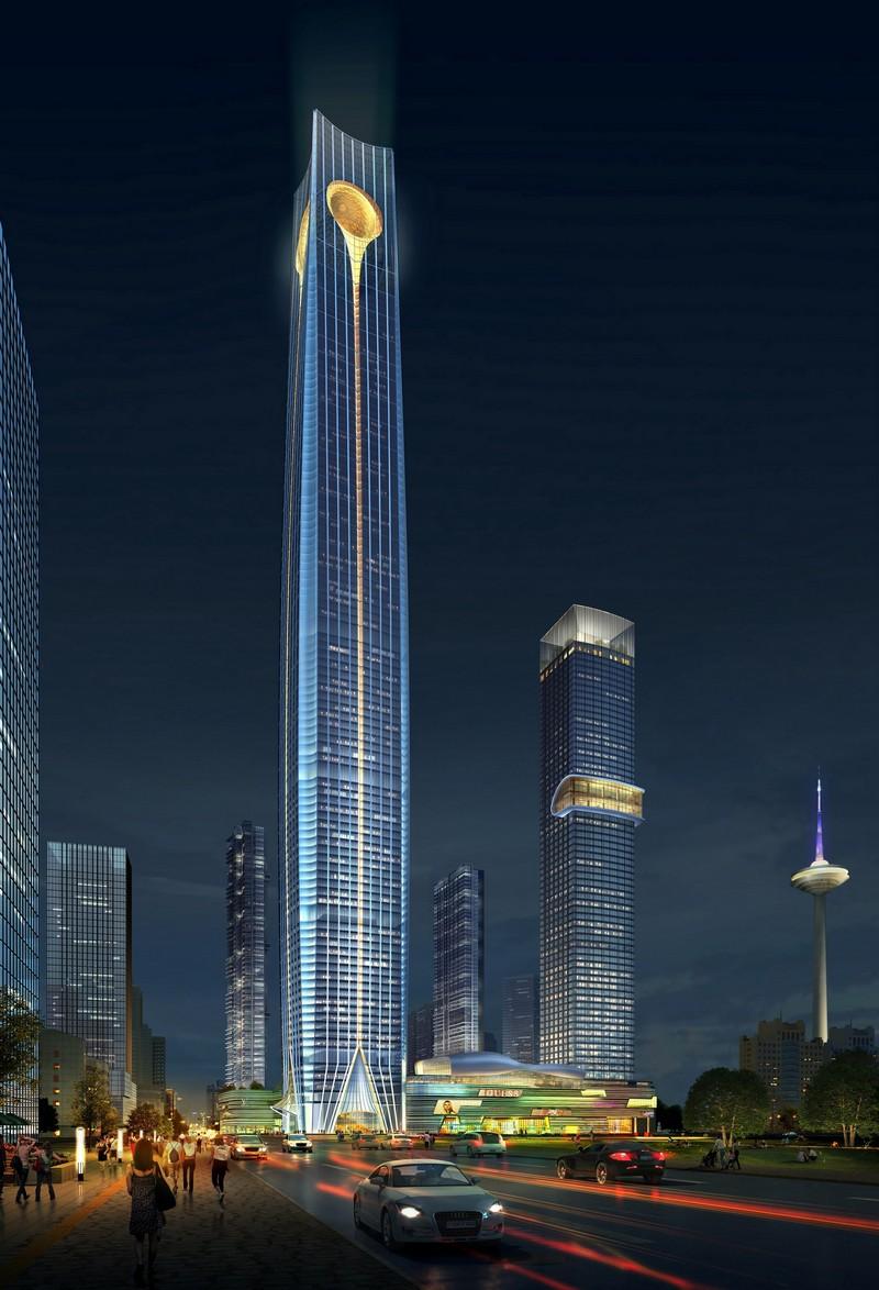 top tallest buildings in the world Baoneng Shenyang Global Financial Center skyscraper