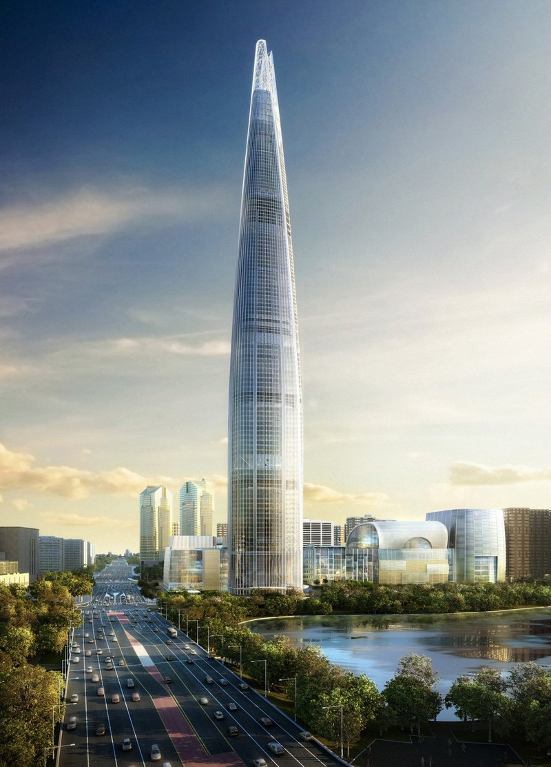 top ten tallest buildings in the world Lotte World Tower