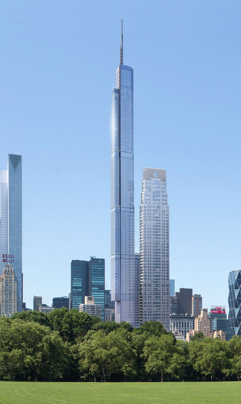 the tallest buildings in the world Central Park Tower