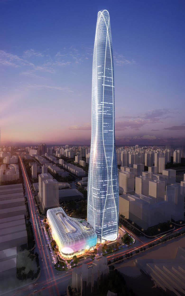 top tallest buildings in the world Tianjin CTF Finance Centre