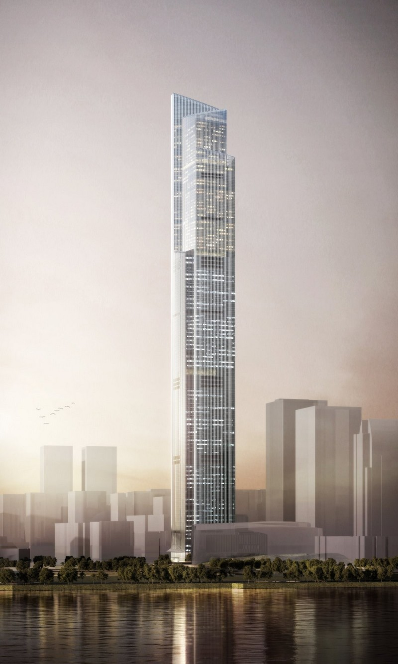 top 10 tallest buildings in the world CTF Finance Centre