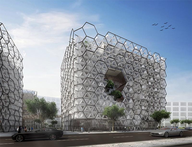Hexagon Building Bing Images