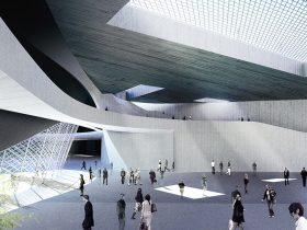 MESH - Extension of Kulture Magasinet Building in Sweden