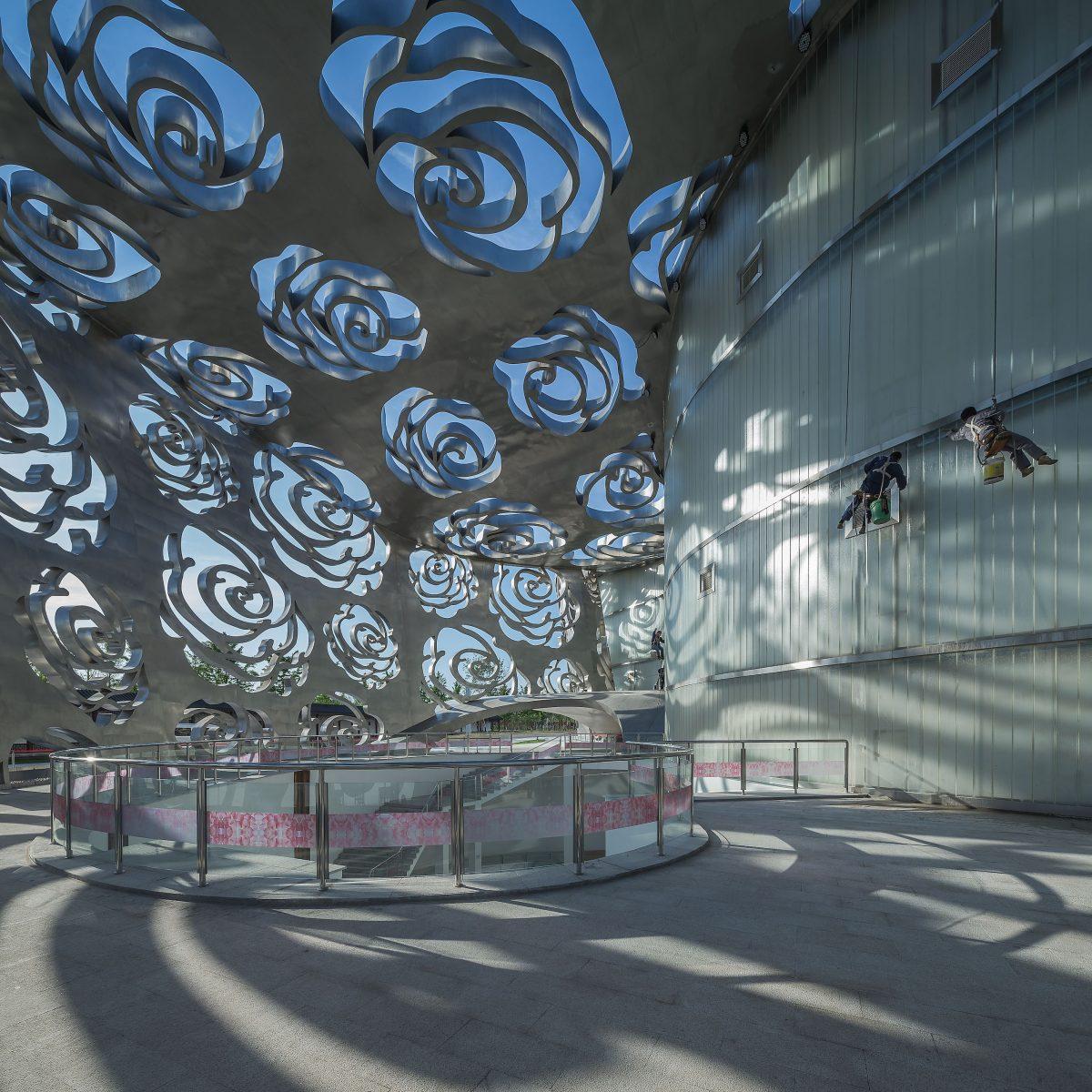 Next Architects Rose Museum China