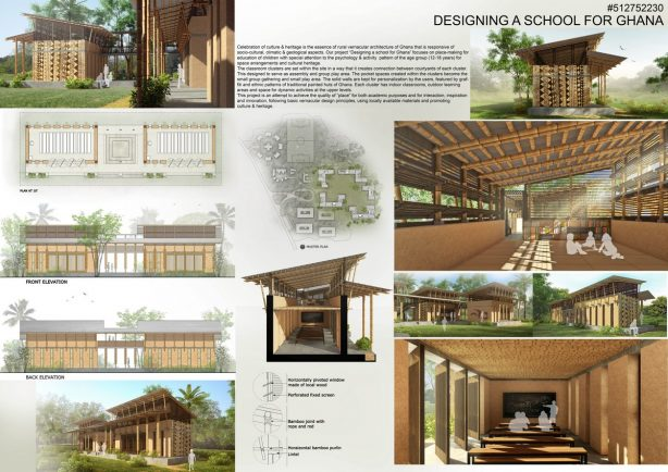 3rd prize is awarded to Classroom by the design team of Archisan (Mehnaz Chowdhury and Sumaiya Mehjabeen) in