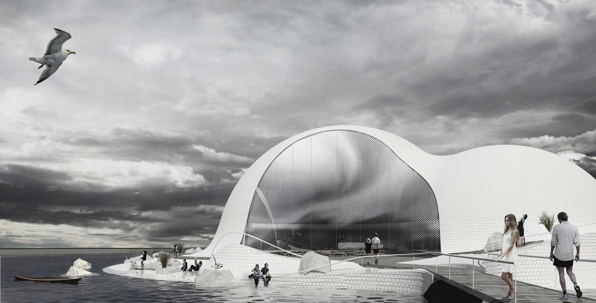 cebra architecture arctic museum Denmark