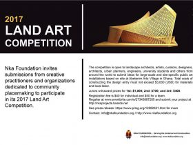 Land Art Competition Nka Foundation