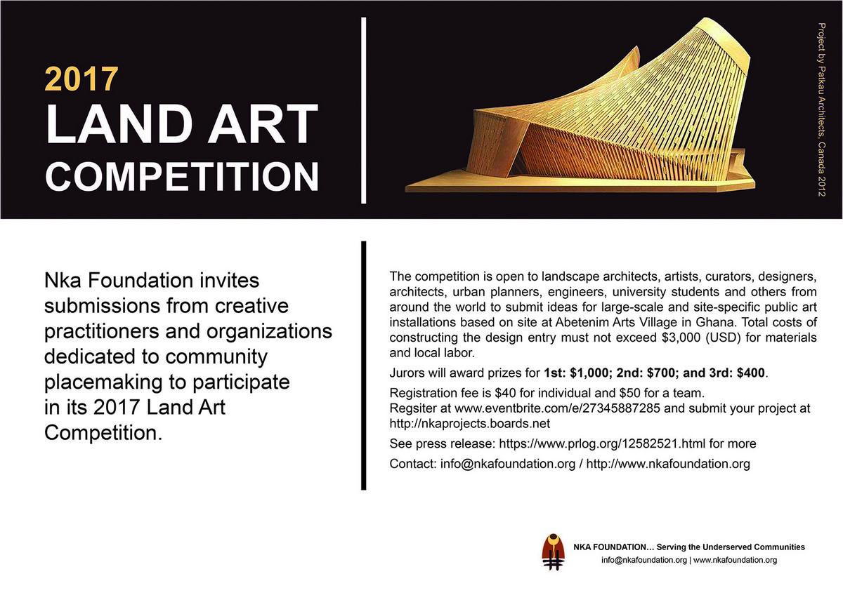 Land Art Competition Nka Foundation