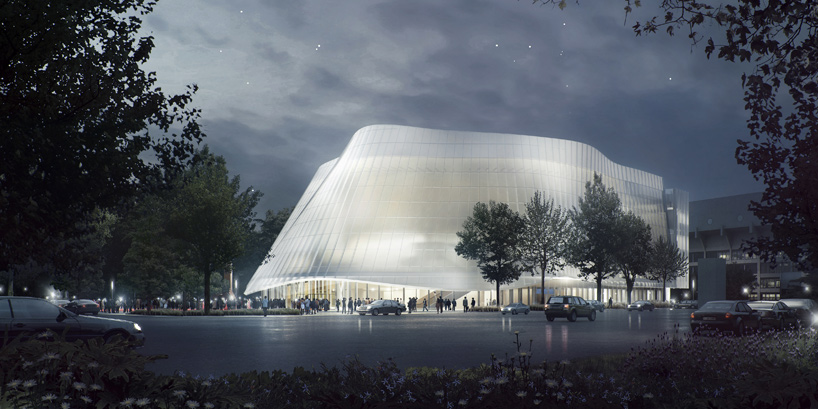 MAD Architects China Philharmonic Concert Hall in Beijing
