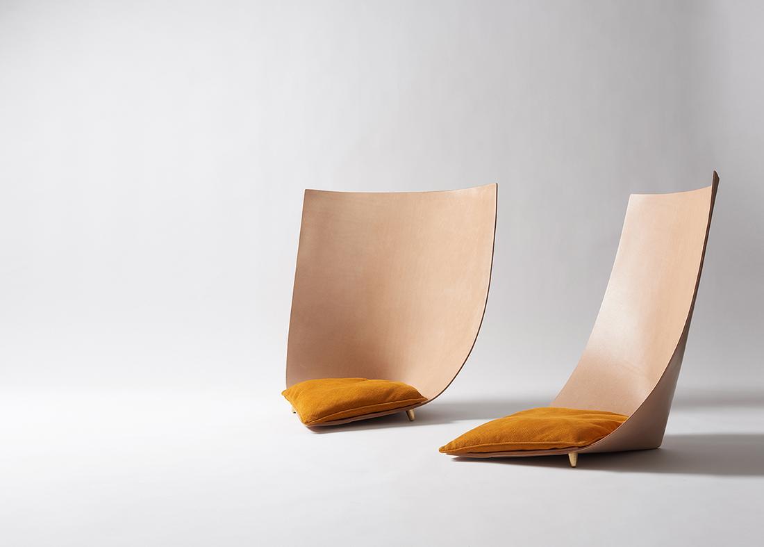 Barcelona chair back - Babu Chair