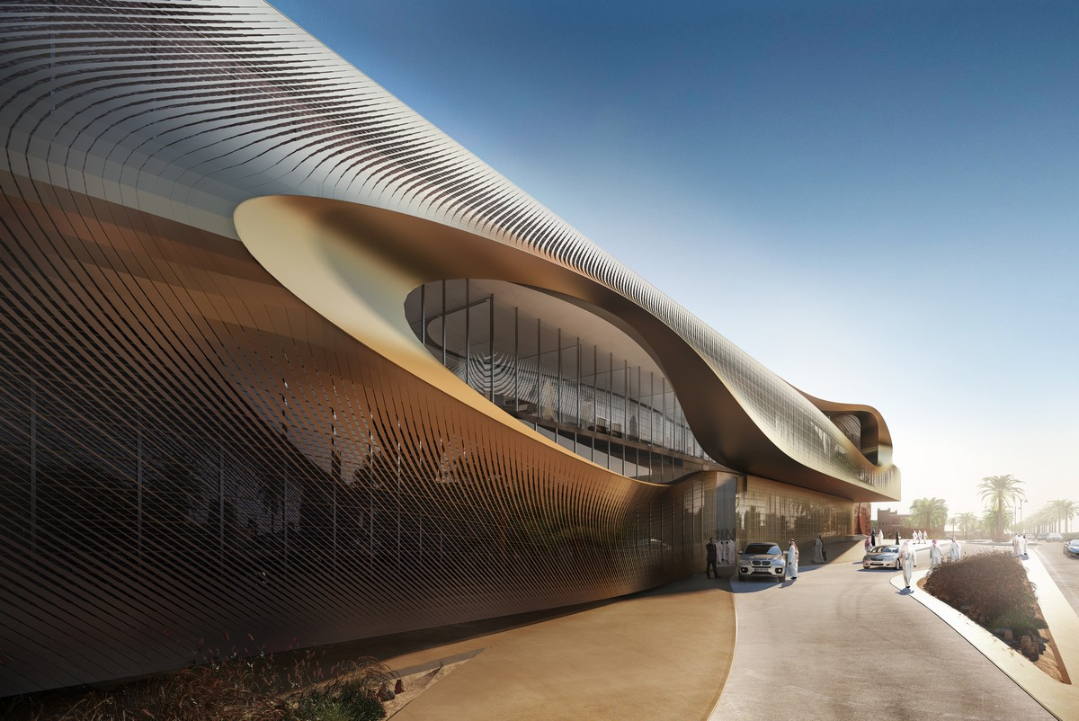 Zaha hadid urban heritage administration centre in diriyah for Architecture zaha hadid