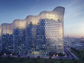 Al Sheraa Building DEWA headquarters Dubai - world's largest and smartest sustainable government building