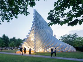 BIG Serpentine Gallery Pavilion 2016 London