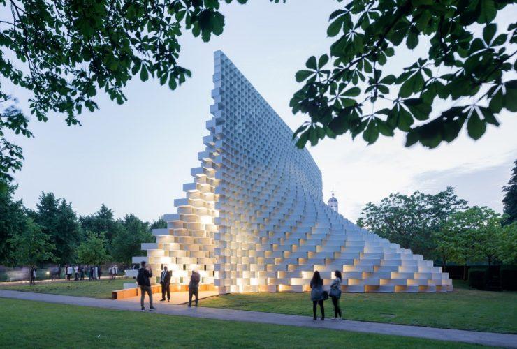 BIG Serpentine Gallery Pavilion 2016 London