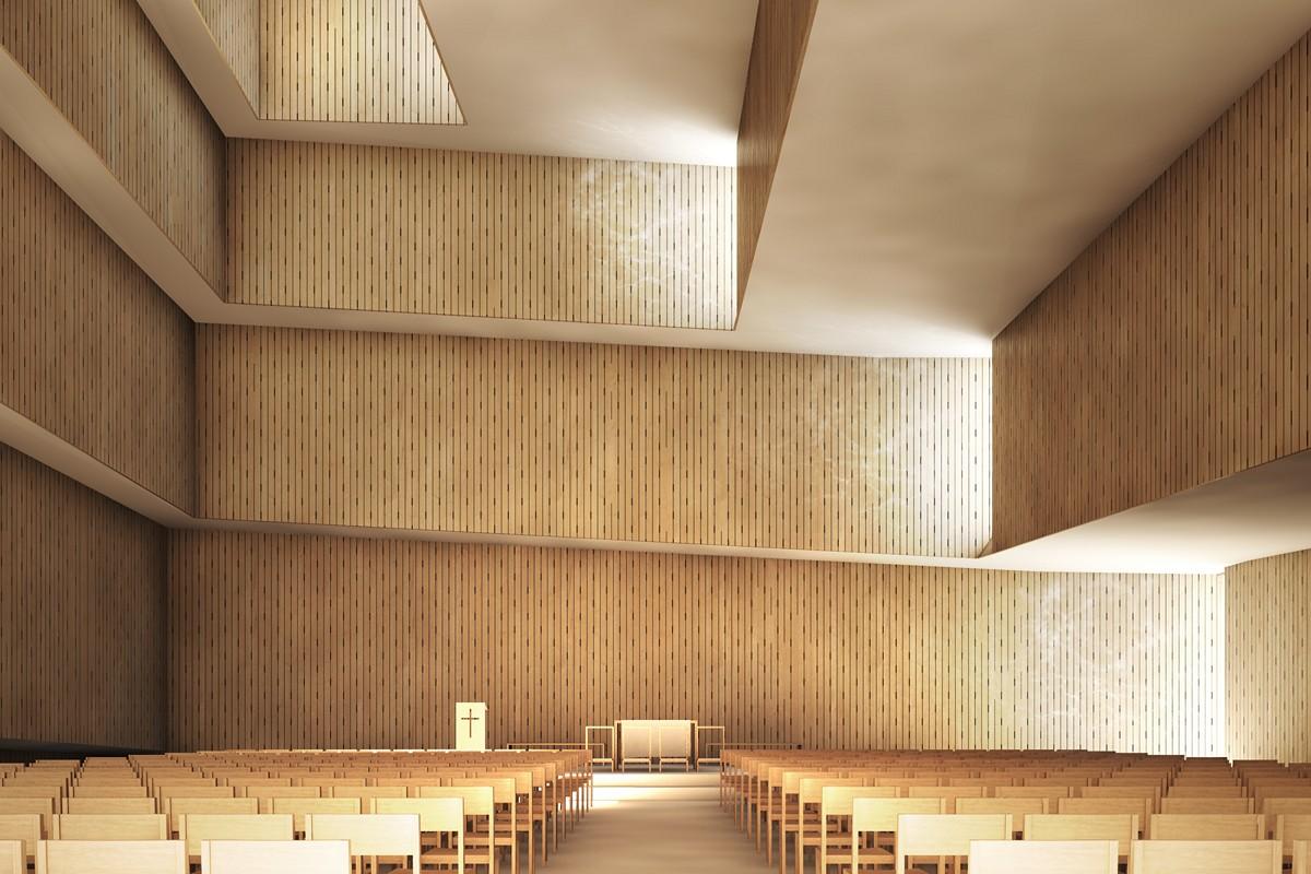 JAJA architects Sydhavnen Church Copenhagen