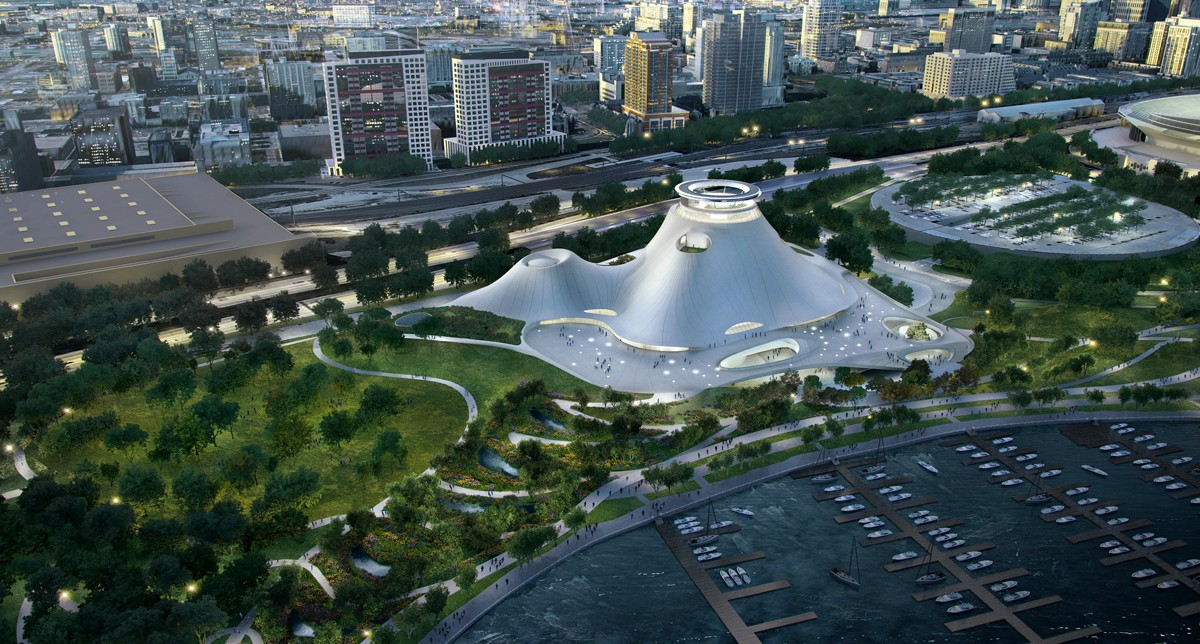 MAD Architects Chicago Lucas Museum of Narrative Art