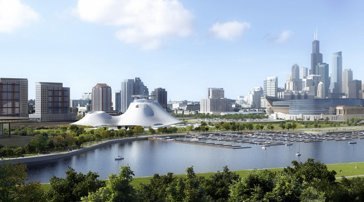 MAD Architects Lucas Museum of Narrative Art in Chicago
