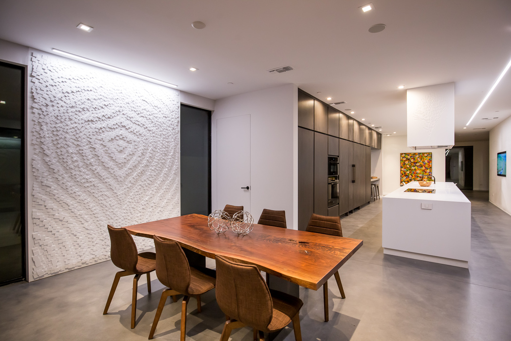Parametric Skin Mario Romano Wave House California - interior