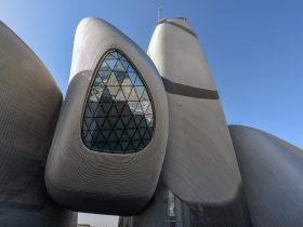 Snohetta King Abdulaziz Center for World Culture in Saudi Arabia