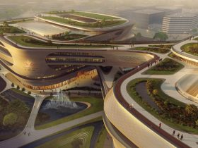 Zaha Hadid Architects Guangzhou Infinitus Plaza