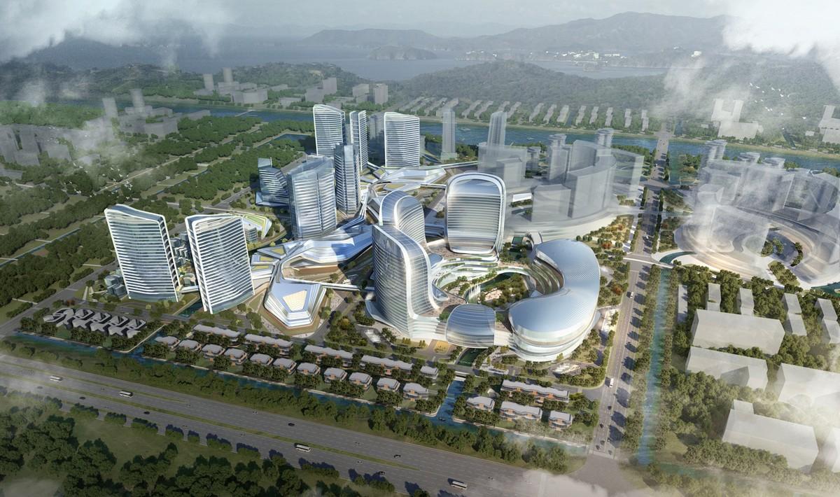 Aedas Novotown mixed-use in Zhuhai, China