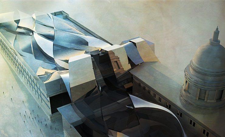 Gaussian Joint - National Art Gallery Singapore Design