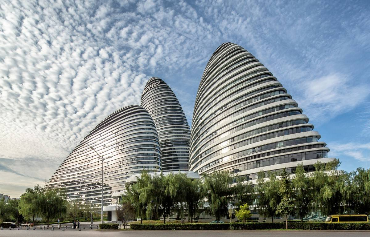 Idea Infinity Plan Zaha Hadid S Wangjing Soho Wins Zhan Tianyou Award For