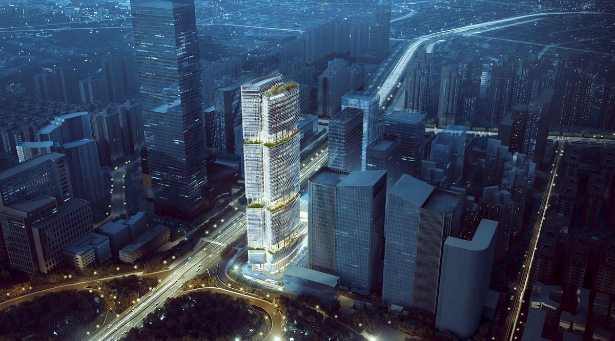 Aedas Gmond International Building, Shenzhen, China