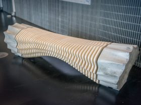 Parametric FLUIDITY Bench Robotic fabrication technologies Tianzhu Zhang