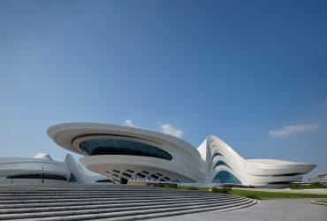 New China culture Center by Zaha Hadid Architects