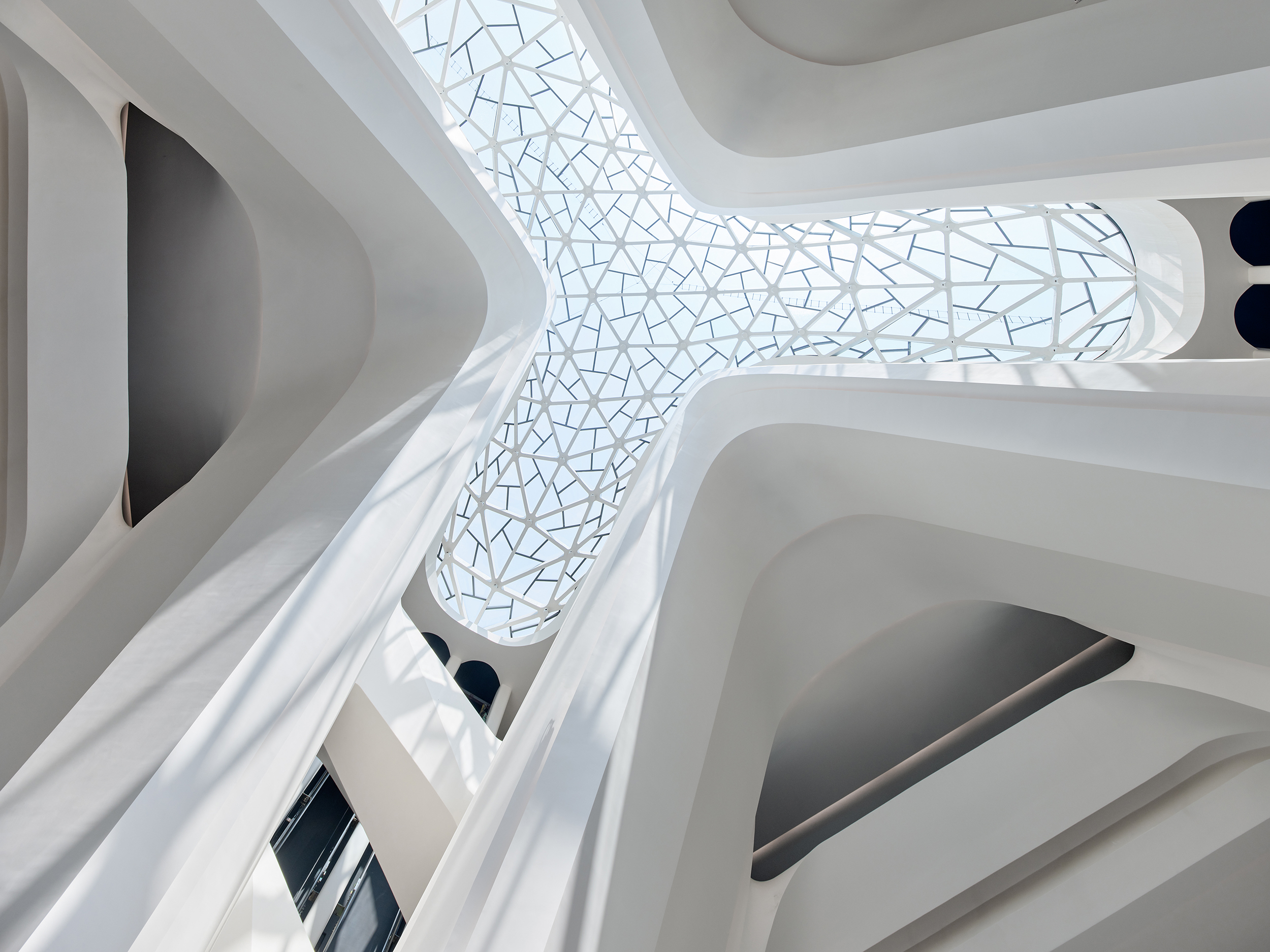 New China cultural Center by Zaha Hadid Architects - The Changsha Meixihu International Culture and Art Center
