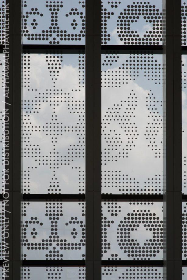 Facade motif details o the Vattanac Capital tower